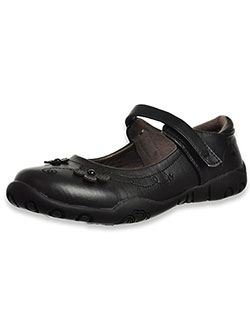 "Girls' ""Erica"" Mary Jane Shoes by French Toast in Black"