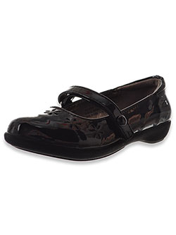 "Girls' ""Grace"" Mary Jane Shoes by French Toast in Black"