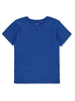 Boys' Basic Crew Neck T-Shirt by French Toast in Blue