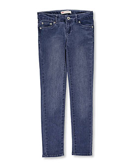 Big Girls' 710 Super Skinny Jeans by Levi's in Denim blue - $21.99