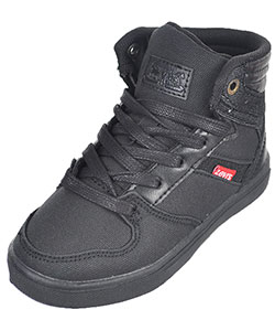 "Levi's Boys' ""Brentwood"" Hi-Top Sneakers (Toddler Sizes 5 – 10) - CookiesKids.com"