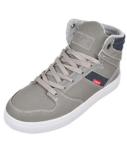 "Levi's Boys' ""Brentwood"" Hi-Top Sneakers (Youth Sizes 13 – 3) - CookiesKids.com"
