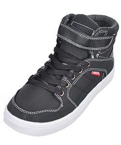 "Levi's Boys' ""Oakley"" Hi-Top Sneakers (Youth Sizes 13 – 3) - CookiesKids.com"