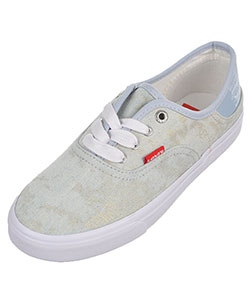 "Levi's Girls' ""Distressed Buck"" Low-Top Sneakers (Youth Sizes 3.5 – 7) - CookiesKids.com"