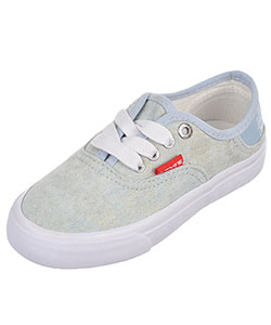 "Levi's Girls' ""Distressed Buck"" Low-Top Sneakers (Toddler Sizes 11 – 12) - CookiesKids.com"