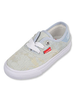 "Levi's Girls' ""Distressed Buck"" Low-Top Sneakers (Toddler Sizes 4 – 10) - CookiesKids.com"