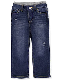 Baby Boys' Pull-On Jeans by Levi's in Medium blue - Jeans
