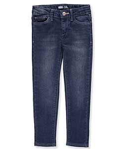 Girls' Denim Leggings by Levi's in Denim blue