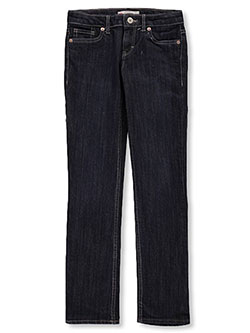 Girls' 711 Skinny Jeans by Levi's in Dark blue, Girls Fashion