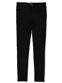 Girls' 710 Super Skinny Jeans by Levi's in black and light denim