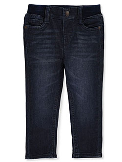 Baby Boys' Soft and Stretchy Skinny Jeans by Levi's in denim blue and light blue