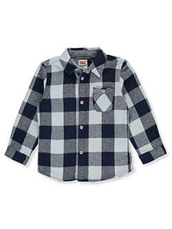 Baby Boys' Button-Down Shirt by Levi's in Blue