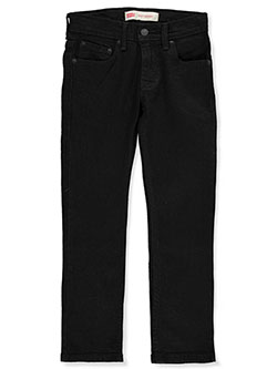 Boys' 510 Skinny Jeans by Levi's in black stretch, dark blue, white and more