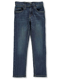 Boys' 511 Slim Performance Jeans by Levi's in dark blue, light blue and medium blue