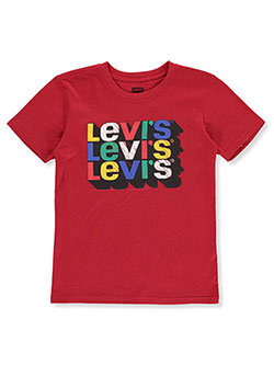 Boys' T-Shirt by Levi's in Red