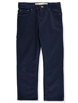 Boys' 511 Slim Twill Jeans by Levi's in Navy
