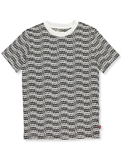 Boys' T-Shirt by Levi's in White/black