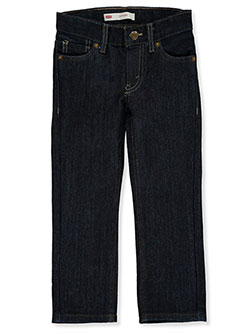 Boys' Tinted 511 Slim Jeans by Levi's in Dark indigo, Sizes 2T-4T