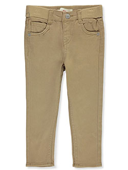 Baby Boys' Skinny Twill Jeans by Levi's in khaki and navy