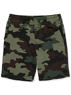 Baby Boys' Twill Shorts by Levi's in camo, khaki and red