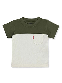 Levis' Baby Boys' Flip T-Shirt by Levi's in blue and gray