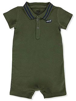 Baby Boys' Polo Romper by Levi's in Olive