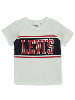 Boys' Statement T-Shirt by Levi's in White - T-Shirts