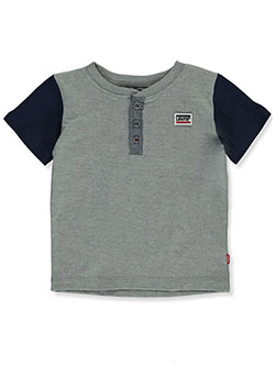 Baby Boys' Color Block Raglan T-Shirt by Levi's in Gray