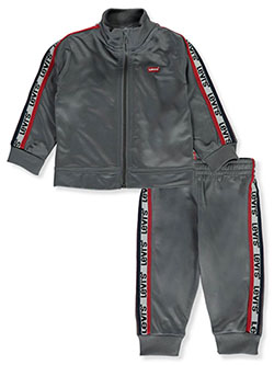 Racer 2-Piece Track Suit Pants Set Outfit by Levi's in Gray