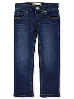 Boys' 511 Slim Jeans by Levi's in dark blue and light blue - Jeans
