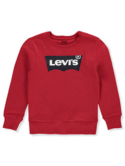 Boys' Logo Sweatshirt by Levi's in Red - Hoodies