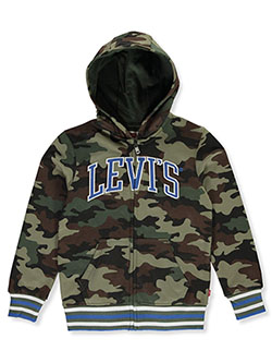 Boys' Camo Zip Hoodie by Levi's in Camo - Hoodies