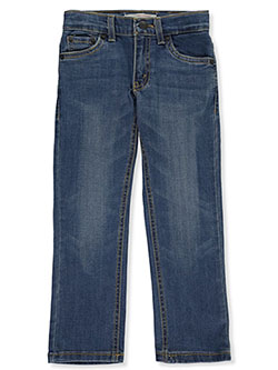 Boys' Straight Fit Jeans by Levi's in Light blue, Boys Fashion