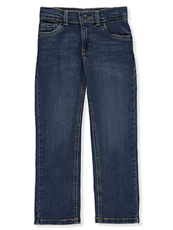 Boys' Straight Fit Jeans by Levi's in Medium blue, Boys Fashion