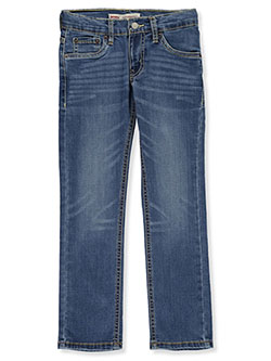 Boys' 511 Slim Jeans by Levi's in Dark blue
