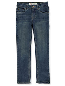 Boys' 510 Skinny Jeans by Levi's in Medium blue - Jeans
