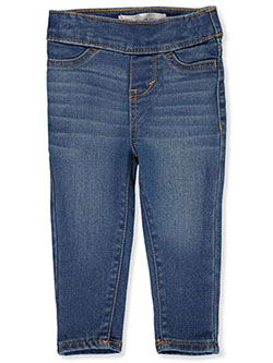 Baby Girls' Pull-On Jeggings by Levi's in Dark blue