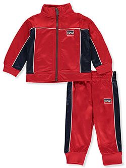 Flag Logo 2-Piece Tracksuit Outfit by Levi's in Red