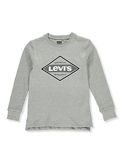 Boys' Thermal Long-Sleeved Shirt by Levi's in Multi