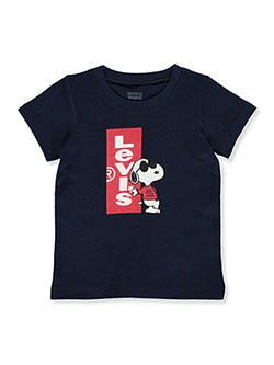 Baby Boys' Snoopy Joe Cool Graphic T-Shirt by Levi's in Navy