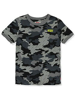 Boys' Camo T-Shirt by Levi's in Black