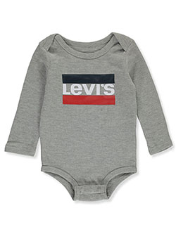 Baby Boys' Thermal L/S Bodysuit by Levi's in Gray