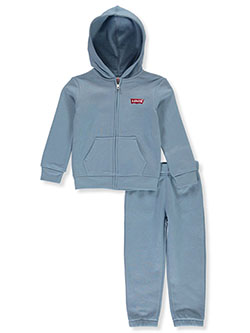 Boys' Classic Logo 2-Piece Sweatsuit Outfit by Levi's in Multi