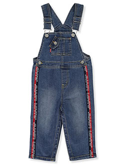 Baby Boys' Logo Taped Overalls by Levi's in Denim - Overalls & Shortalls