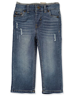 Baby Boys' 514 Straight Pull-On Pants by Levi's in Medium blue - Jeans