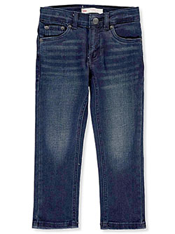Boys' Performance 511 Slim Jeans by Levi's in Dark blue - Jeans