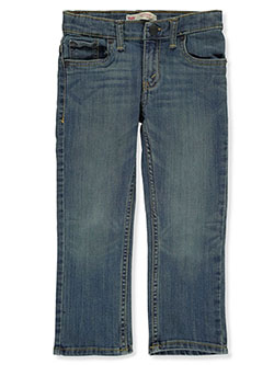 Boys' Performance 511 Slim Jeans by Levi's in Light blue - Jeans