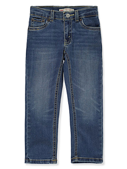 Boys' Performance 511 Slim Jeans by Levi's in Medium blue - Jeans