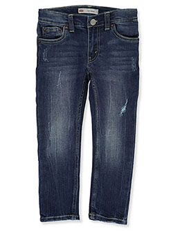 Boys Skinny 510 Jeans by Levi's in Dark blue