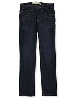Boys' 510 Skinny Jeans by Levi's in Dark blue - Jeans